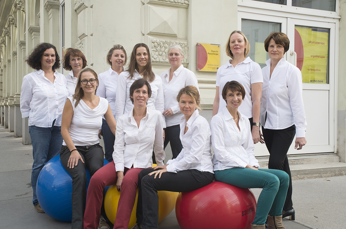 Team Physiotherapie on the Move